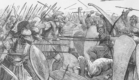 Спартанские воины. Изображение № 6.