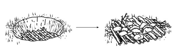 Как выжить в лесу: Техника приготовления еды в условиях дикой природы. Изображение №7.