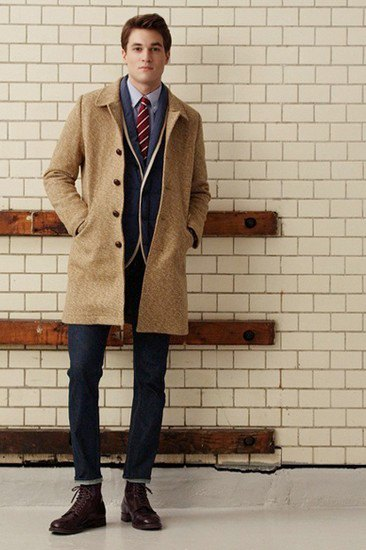 Марка Gant Rugger опубликовала лукбук осенней коллекции одежды. Изображение № 7.