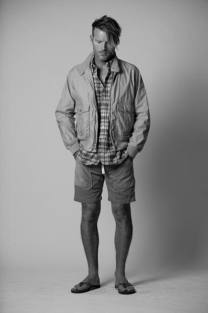 Марка Engineered Garments представила новую коллекцию на весну будущего года. Изображение № 7.