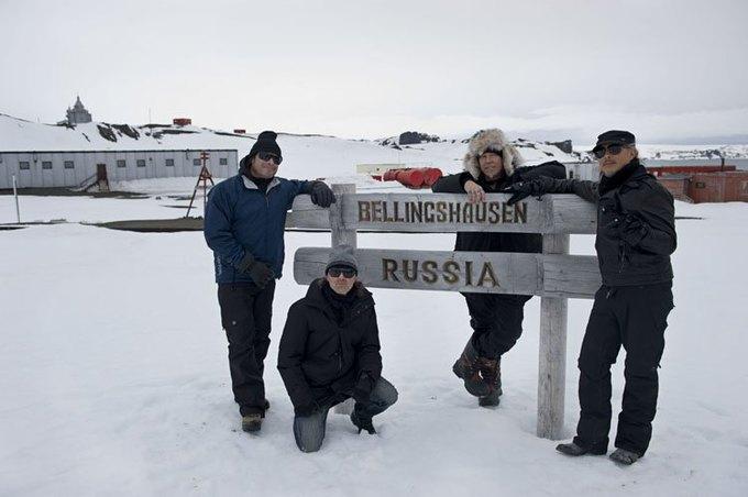 Metallica отыграла концерт в Антарктиде. Изображение № 3.