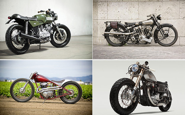 Календарь с кастомизированными мотоциклами сайта Bike EXIF. Изображение №1.