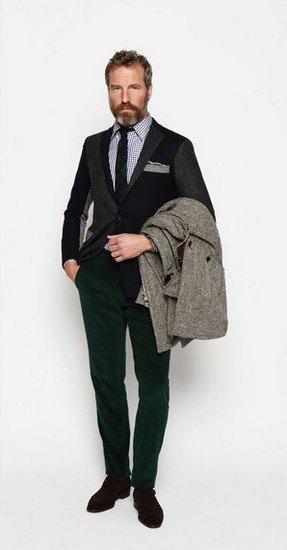 Марка Ovadia & Sons опубликовала лукбук осенней коллекции одежды. Изображение № 17.