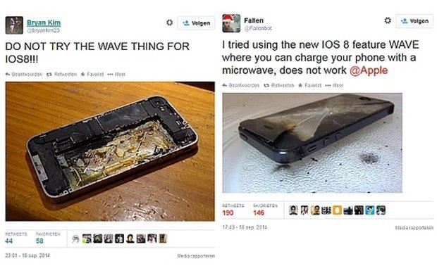 Пользователи iPhone массово начали заряжать смартфон от микроволновки. Изображение № 2.