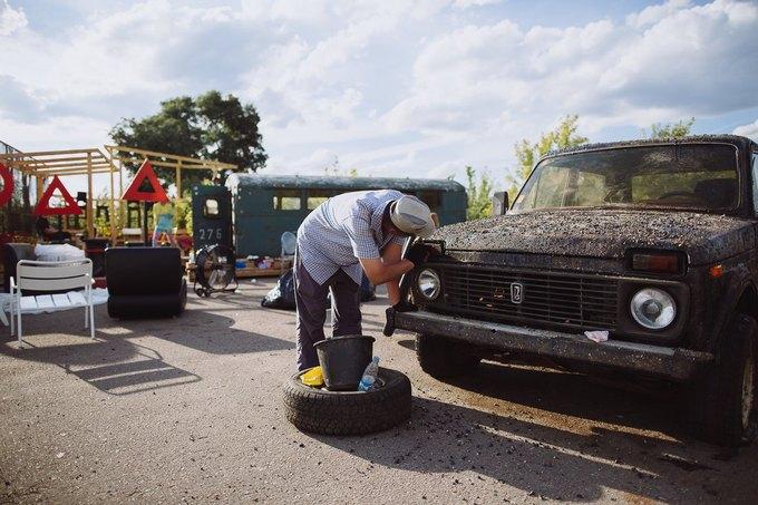 Фоторепортаж: Строительство объектов фестиваля Outline. Изображение № 54.