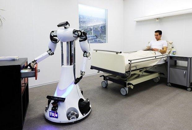 Роботы протестировали интернет-сеть RoboEarth — аналог Скайнета. Изображение № 1.