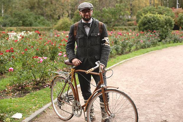 Детали: Репортаж с велозаезда Tweed Ride Moscow. Изображение № 78.