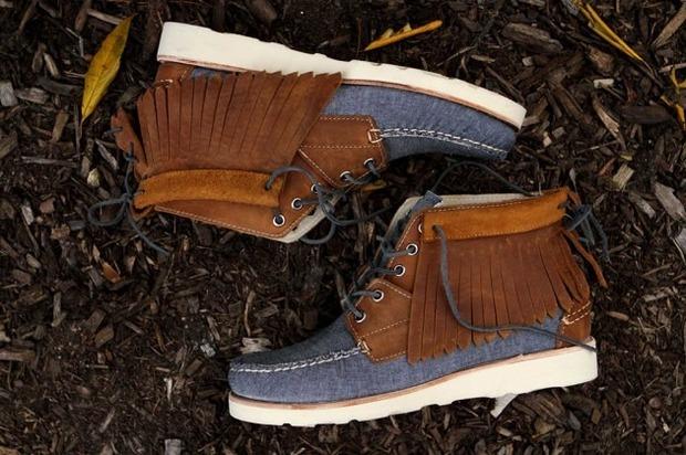 Дизайнер Ронни Фиг и марка Sebago выпустили капсульную коллекцию обуви. Изображение № 8.