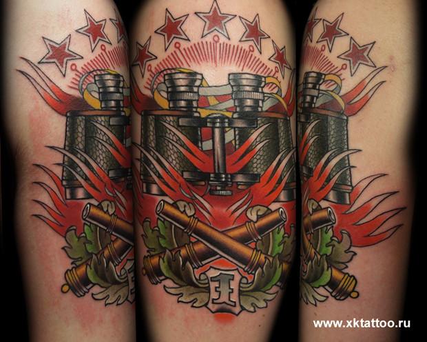 Хруст костей: Интервью с татуировщиком Дмитрием Речным. Изображение № 5.