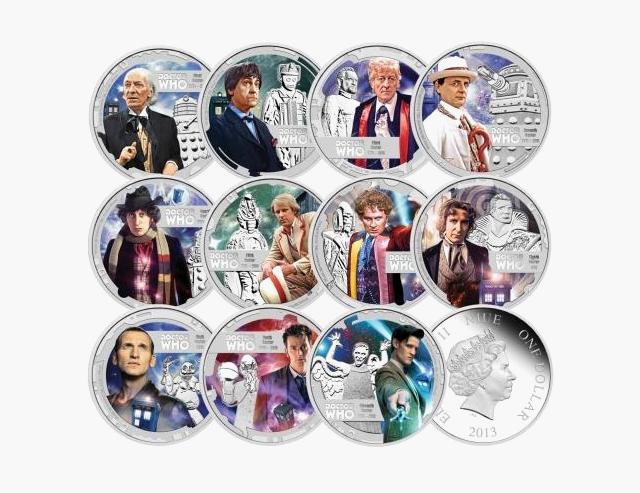 Как герои поп-культуры появлялись на монетах и почтовых марках. Изображение № 3.