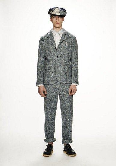 Марка Woolrich Woolen Mills опубликовала лукбук осенней коллекции одежды. Изображение № 10.
