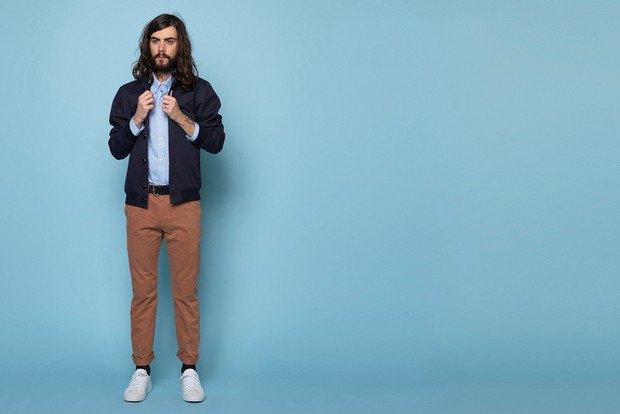 Французская марка Sixpack опубликовала лукбук весенней коллекции одежды. Изображение № 12.