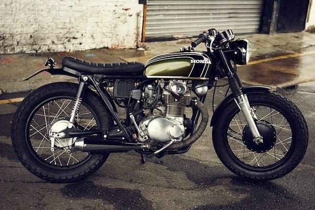 Английская мастерская Untitled Motorcycles представила каферейсер Honda CB350. Изображение № 2.