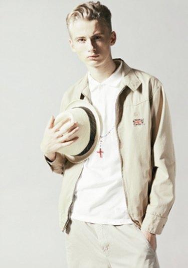 Марка Neighborhood опубликовала лукбук весенней коллекции одежды своей линейки Luker. Изображение № 8.
