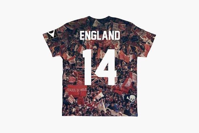 Марка Eleven Paris к чемпионату мира по футболу представила коллекцию футболок. Изображение № 6.