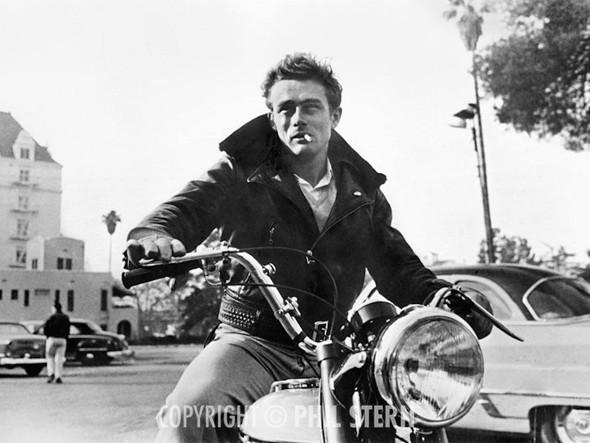 Джеймс Дин — Triumph Trophy 1955. Изображение № 10.