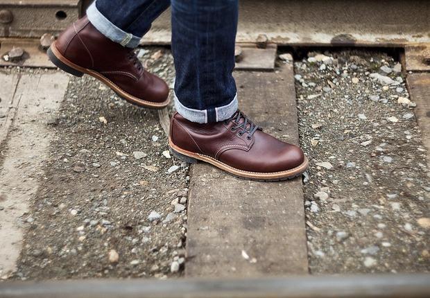 Магазин Brandshop опубликовал лукбук обувной марки Red Wing. Изображение № 3.