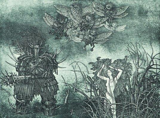 5 русских художников, оформляющих обложки альбомов экстремального метала. Изображение № 25.