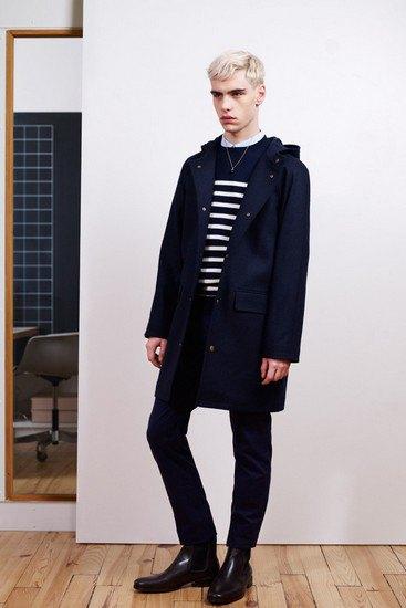 Марка A.P.C. выпустила лукбук осенней коллекции одежды. Изображение № 6.