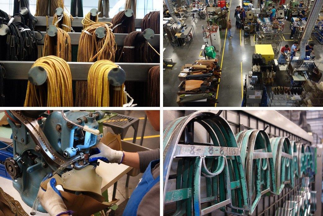 10 репортажей с фабрик одежды и обуви: Alden, Barbour и другие изнутри. Изображение № 4.