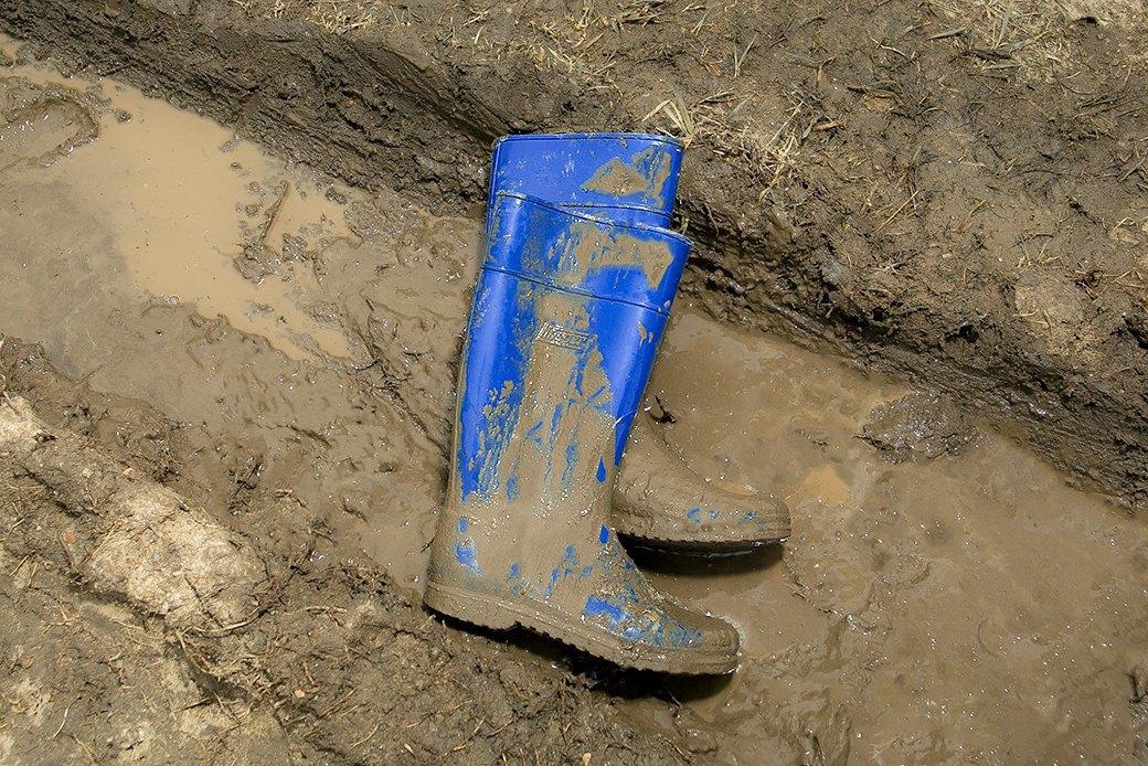 Ревизия: Непромокаемые ботинки в московской грязи. Изображение № 6.
