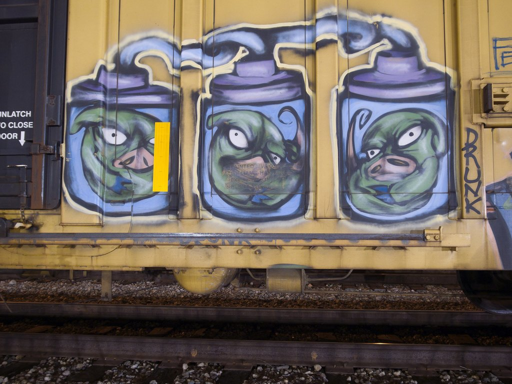 True 2 Death: Блог о разрисованных поездах из Южной Калифорнии. Изображение № 14.