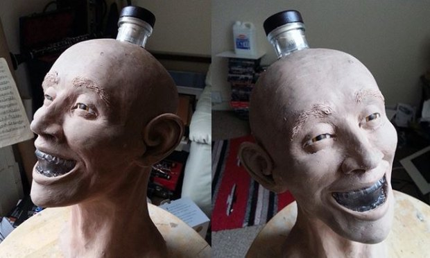 Шотландец восстановил лицо человека по черепу с бутылки водки Crystal Head. Изображение № 5.