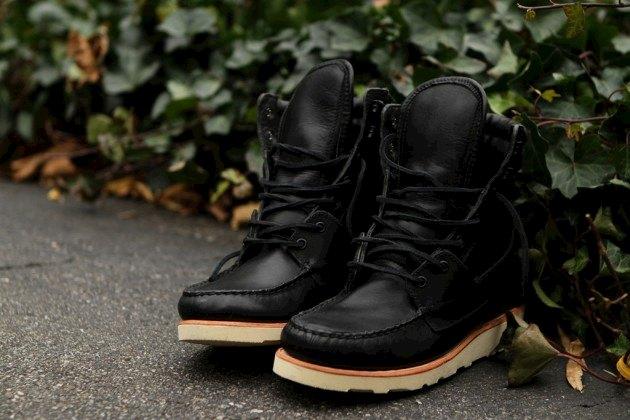 Дизайнер Ронни Фиг и марка Sebago представили осенне-зимнюю коллекцию обуви. Изображение № 1.
