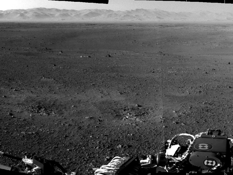 10 фотографий с марсохода Curiosity и поверхности Красной планеты. Изображение №10.