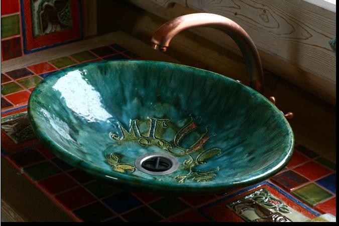 Ручная работа: Керамическая раковина KVN-Studio. Изображение № 1.