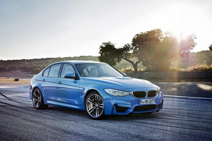 BMW представила новый седан M3 и купе M4. Изображение № 10.