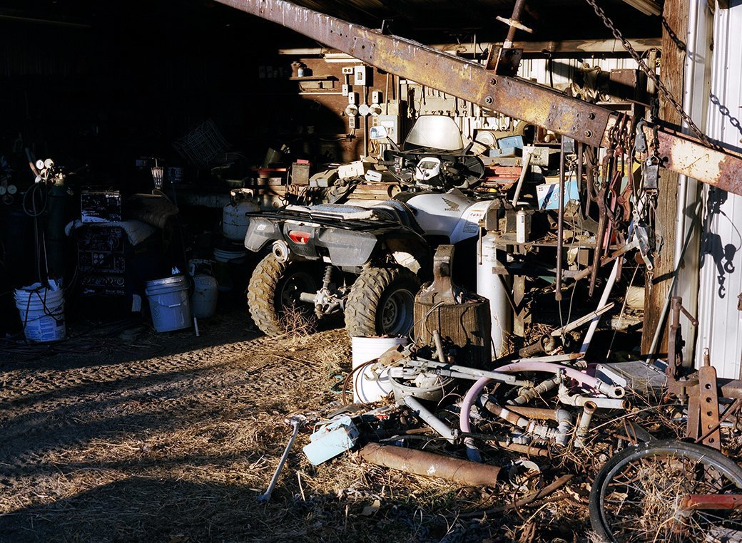 Бытовая жизнь работников бизоньего ранчо в США . Изображение № 12.