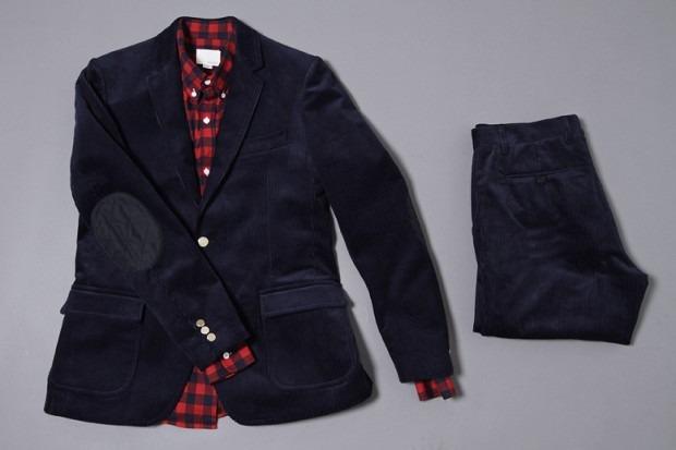Американская марка Band of Outsiders представила осеннюю коллекцию одежды. Изображение № 4.