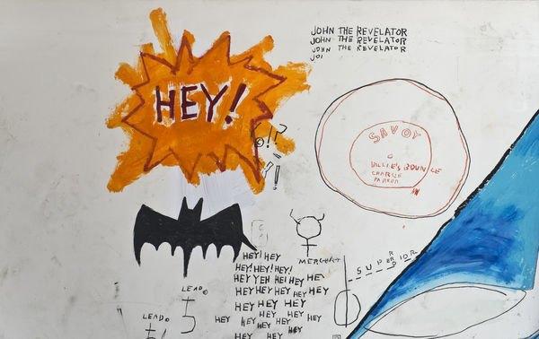 В музее Бруклина выставили скетчбуки Баския. Изображение № 5.