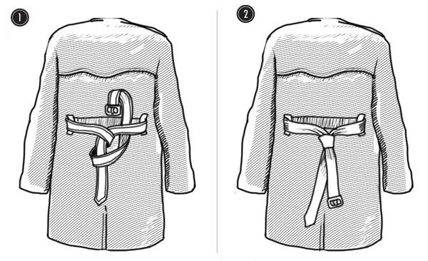 Совет: Как завязывать пояс на тренче. Изображение № 12.