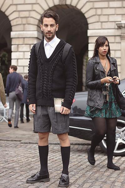 Уличный стиль на неделе моды в Лондоне. Изображение № 9.