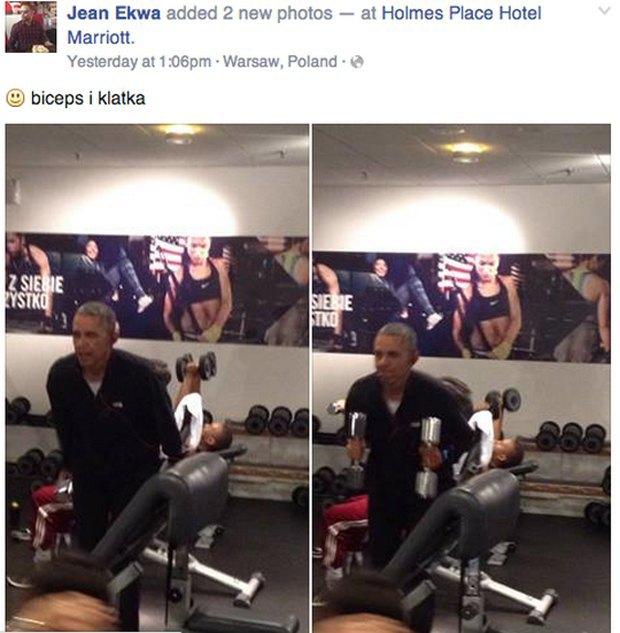 На YouTube появилось видео кроссфит-тренировки Барака Обамы. Изображение № 1.