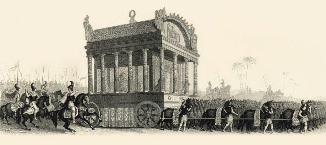 Катафалк: Ритуальные авто в обычной жизни и мировой культуре. Изображение № 1.