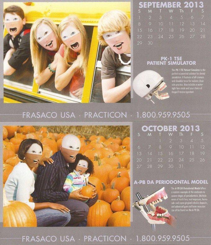 Стена плача: Худшие календари на 2014 год. Изображение № 54.