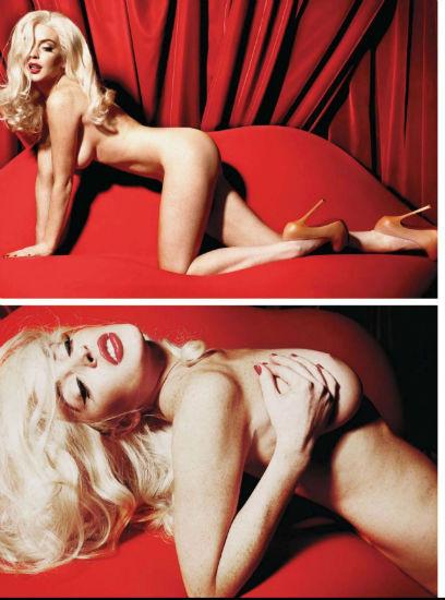 Актриса Линдси Лохан снялась для журнала Playboy. Изображение № 5.