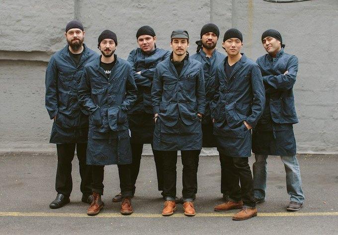 Engineered Garments выпустили коллекцию для персонала ресторана. Изображение № 1.