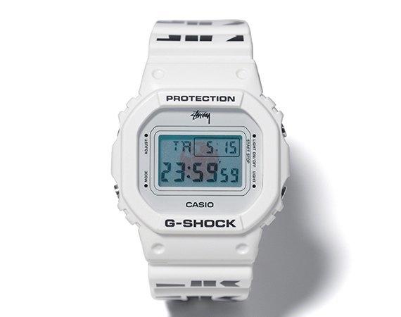 Компания Casio и марка Stussy представили совместную модель часов G-Shock. Изображение № 1.