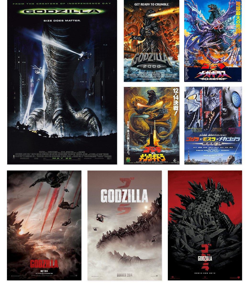 50 плакатов к фильмам о Годзилле. Изображение № 6.