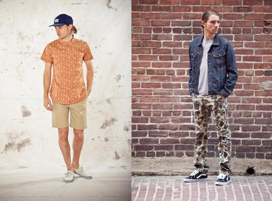 Марка Obey выпустила лукбук весенней коллекции одежды. Изображение № 30.