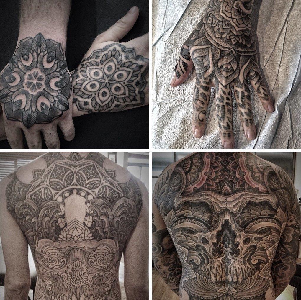 Что публикуют в своих Instagram известные татуировщики. Изображение № 7.