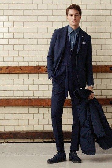 Марка Gant Rugger опубликовала лукбук осенней коллекции одежды. Изображение № 6.