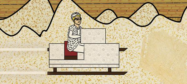 Турецкий художник изобразил кадры из известных фильмов в стиле миниатюр времен Османской империи. Изображение № 35.