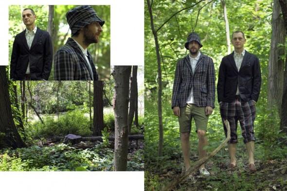 Лукбук новой коллекции марки Engineered Garments. Изображение № 4.