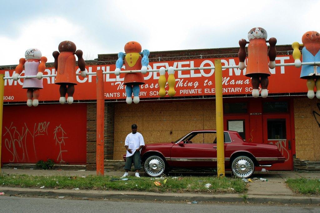 Как живут обитатели детройтских окраин. Изображение № 7.