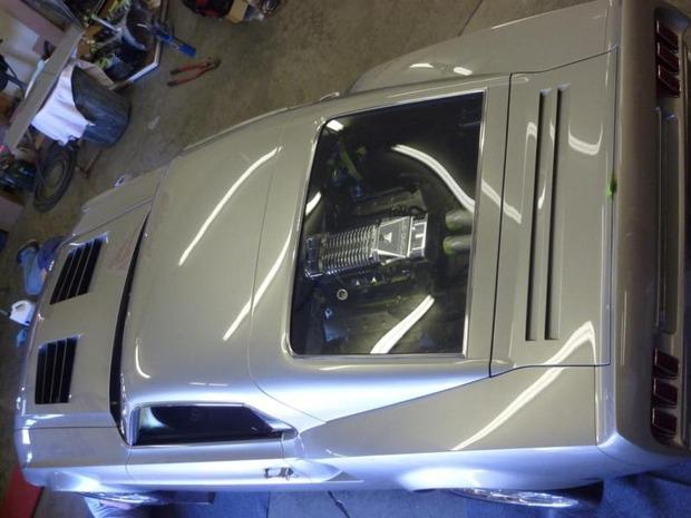 Американская мастерская изготовила гибрид маслкара Ford Mustang Mach 1 и спорткара GT40. Изображение № 11.